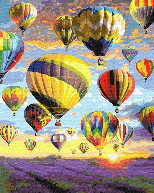 Купить Картину по номерам Мечты в небе GX28734 Киев ...